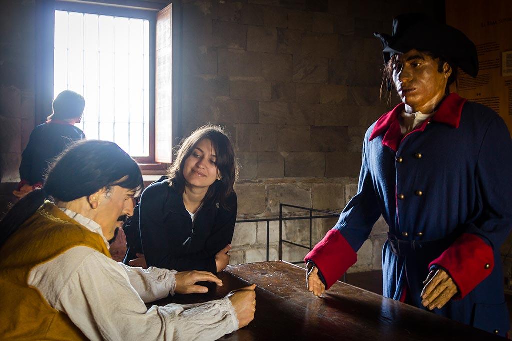 Valdivia - Fuerte Niebla - Bruna e seus amigos