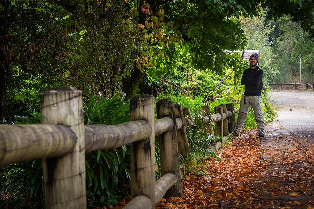 Valdivia - Jardim botânico - Diego