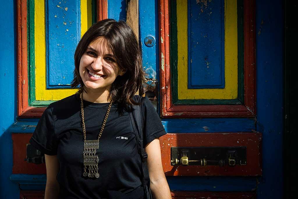 Buenos Aires - Bruna no Caminito