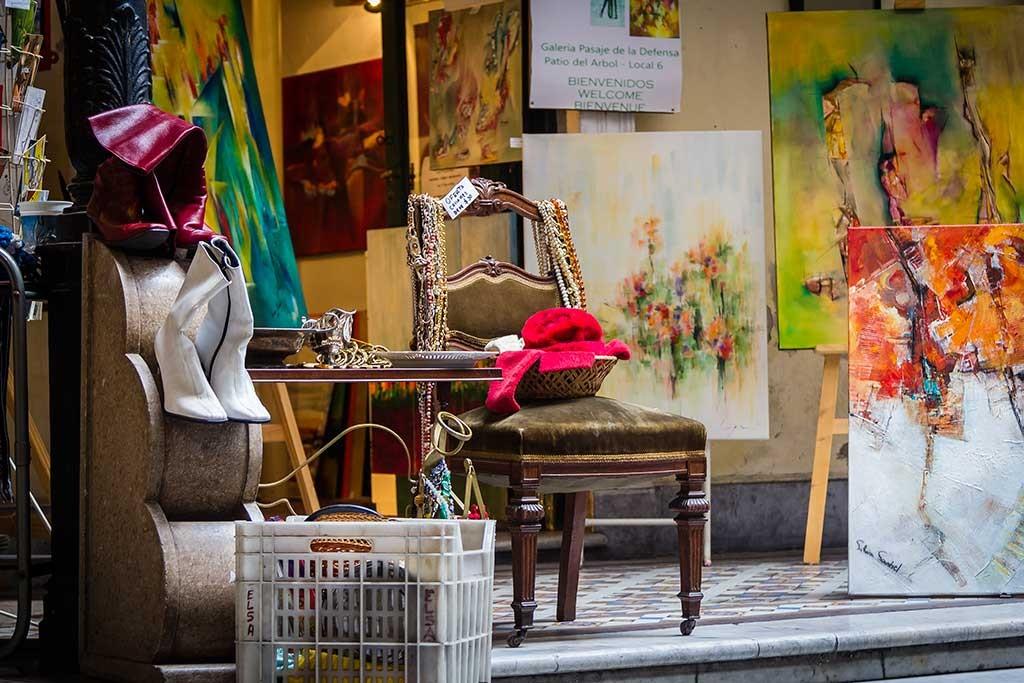 Buenos Aires - Feira de San Telmo - Antiguidades