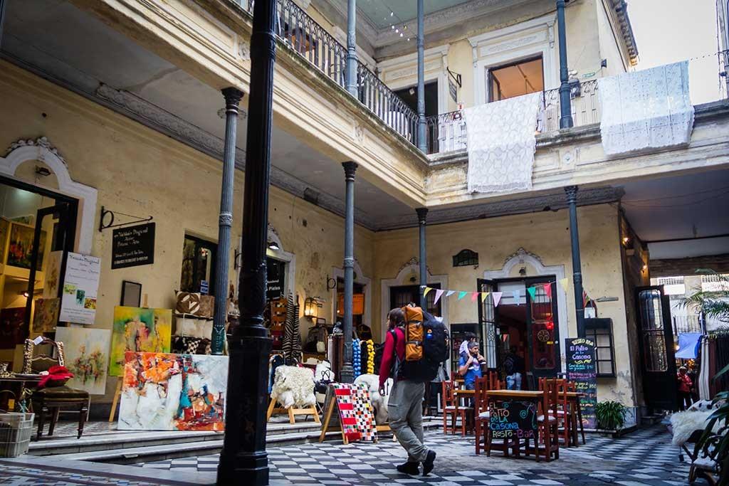 Buenos Aires - Feira de San Telmo - Diego