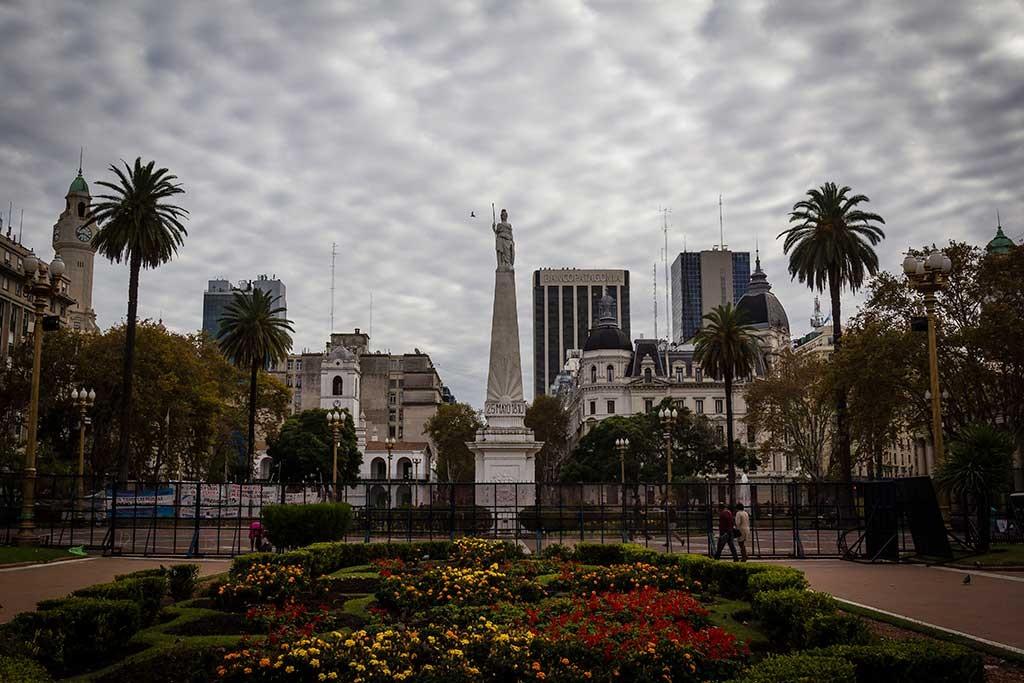 Buenos Aires - Praça 25 de maio