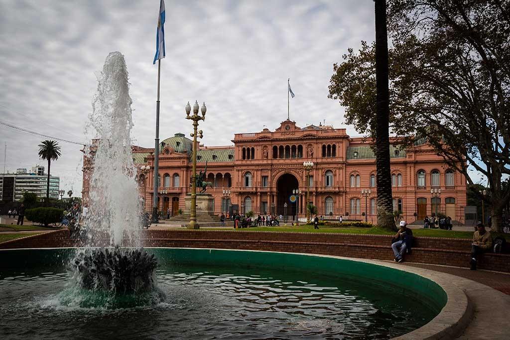 Buenos Aires - Praça 25 de maio - Casa rosada