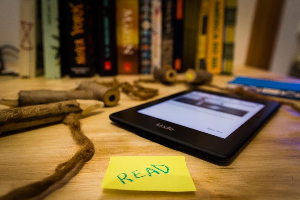 Review Kindle - Companheiro de viagem