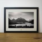 Quadro A Natureza Humana - Acampamento e Lago Dickinson - Torres del Paine