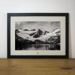 Quadro A Natureza Humana - Laguna de los Tempanos - Ushuaia