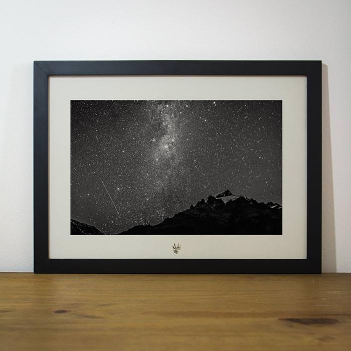 Quadro A Natureza Humana – O Universo e a noite – El Chaltén