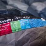 Saco de dormir Deuter Orbit -5 - Review - Detalhe Etiqueta