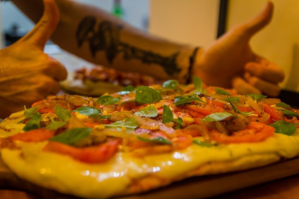 Couchsurfing Jaraguá - Noite das pizzas 01