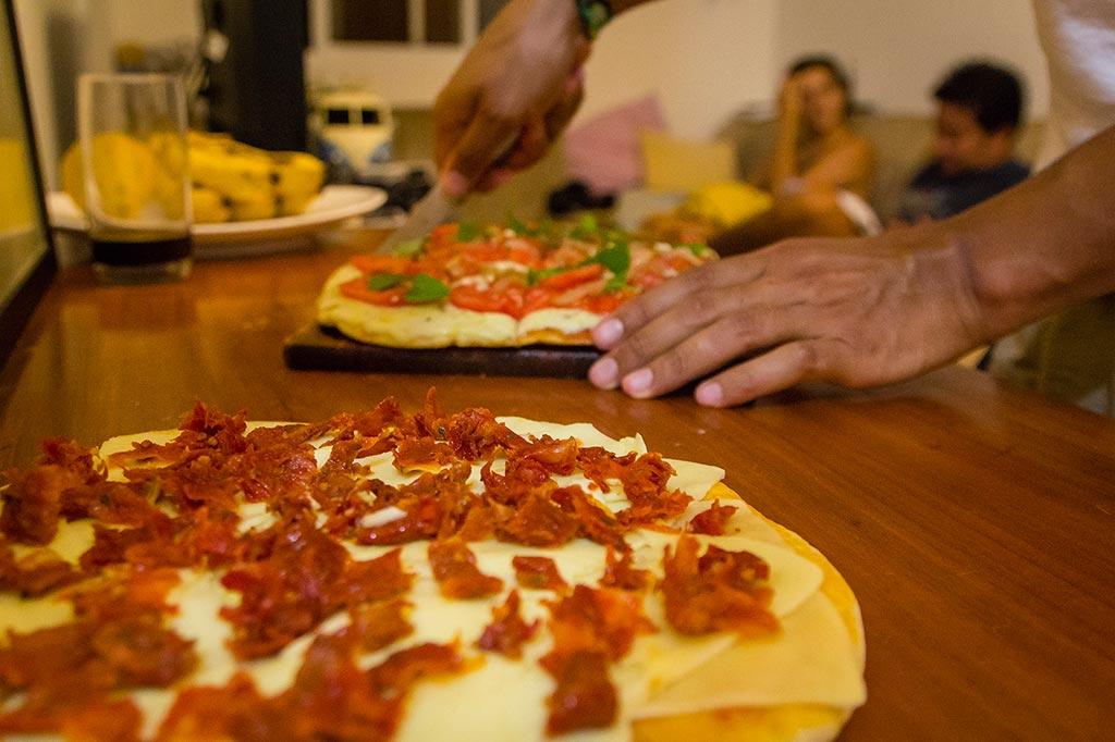 Couchsurfing Jaraguá - Noite das pizzas 02