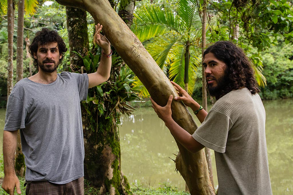 Couchsurfing Jaraguá - Parque Malwee - Juan e Manuel