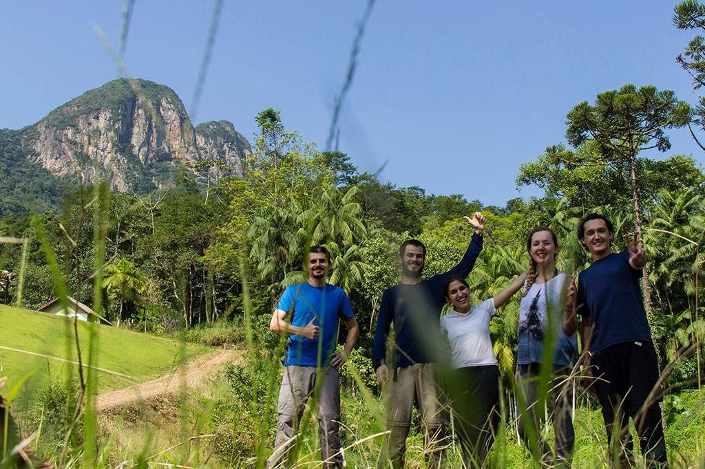 Trekking Morro da Igreja - Nós na base da montanha