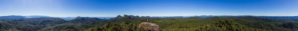 Trekking Castelo dos Bugres - Vista Panorâmica do Topo