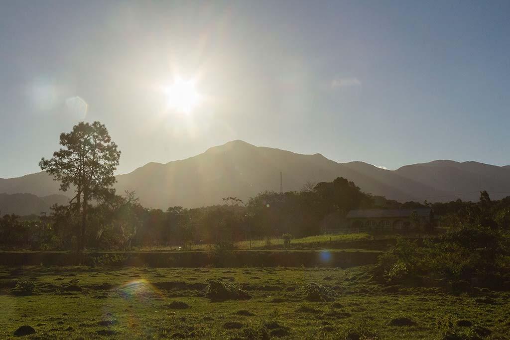 Pedal e Trekking Morro Pelado - Schroeder - Pôr do sol