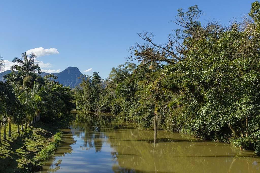 Pedal e Trekking Morro Pelado - Schroeder - Rio cruzando a principal estrada do município 2