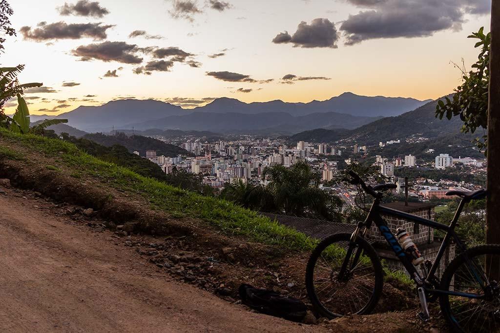 Pedal de Treino - Jaraguá do Sul - Subida Morro das Antenas