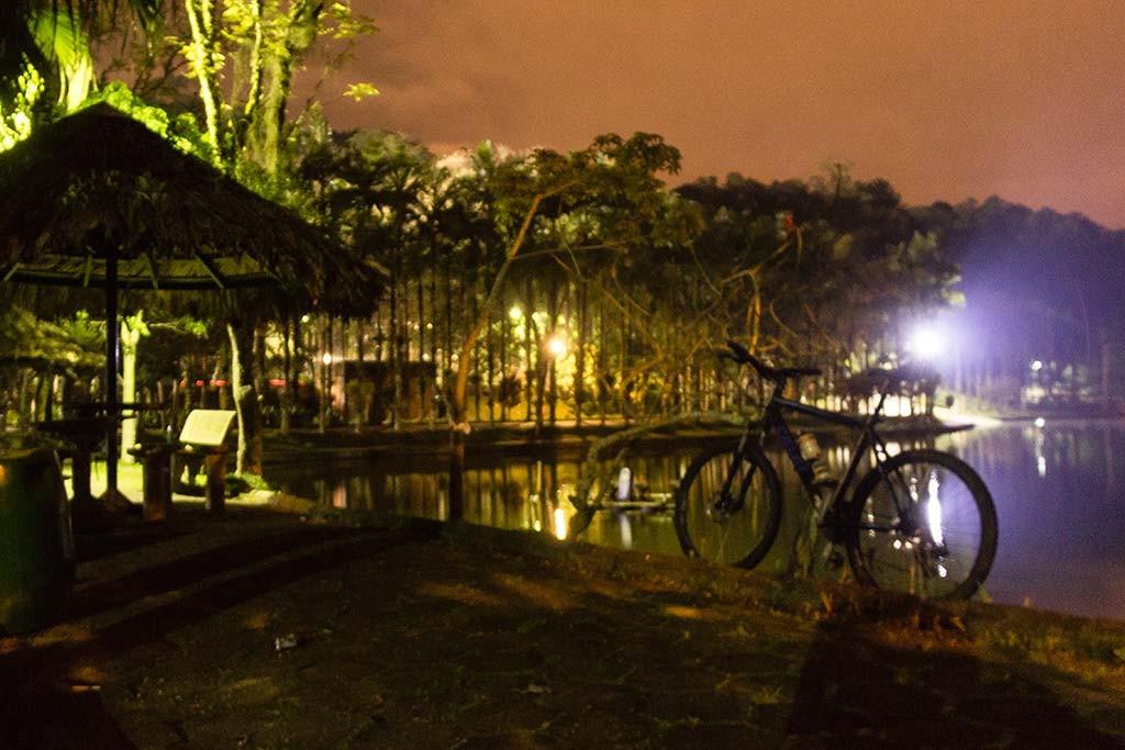 Pedal de treino - Parque Malwee - Jaraguá do Sul - Bike e quiosque