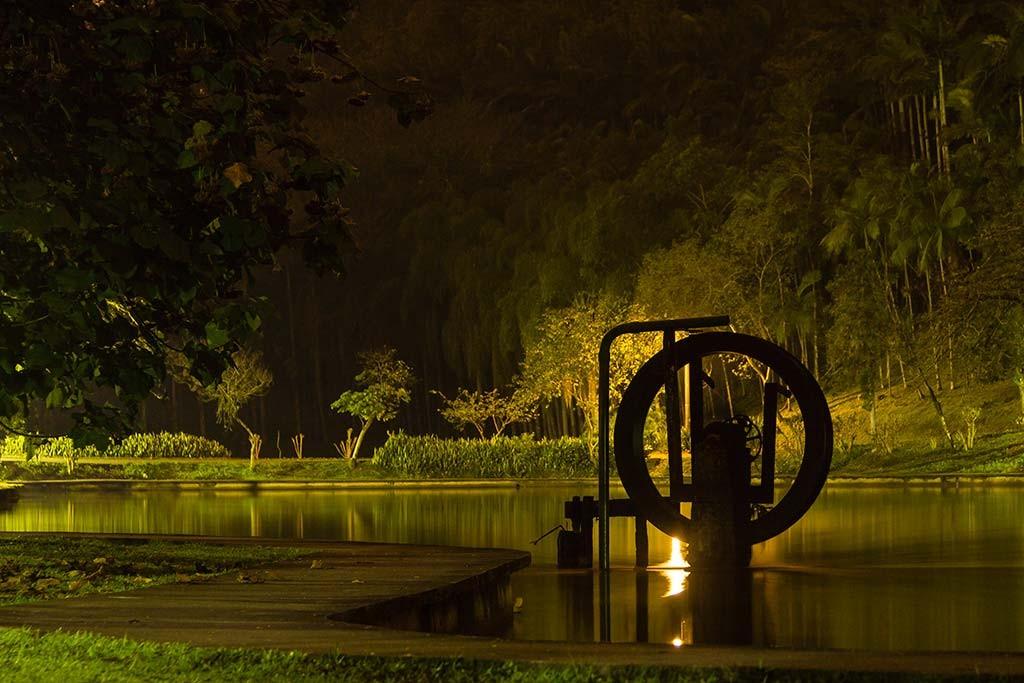Pedal de treino - Parque Malwee - Jaraguá do Sul - Roda d'água 2