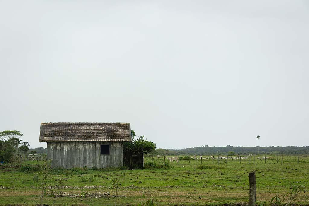 Cicloturismo litoral norte de SC - Dia 1 - Rancho no caminho