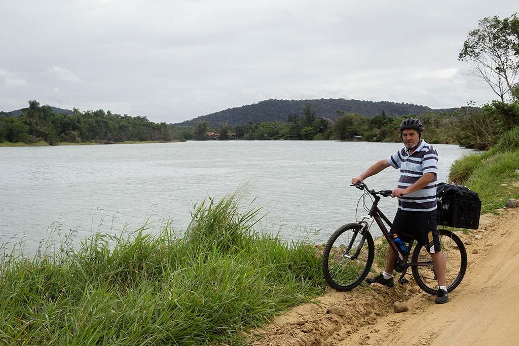 Cicloturismo litoral norte de SC - Dia 2 - Barra do Itapocu