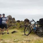 Cicloturismo litoral norte de SC - Dia 2 - Beira mar de Barra Velha
