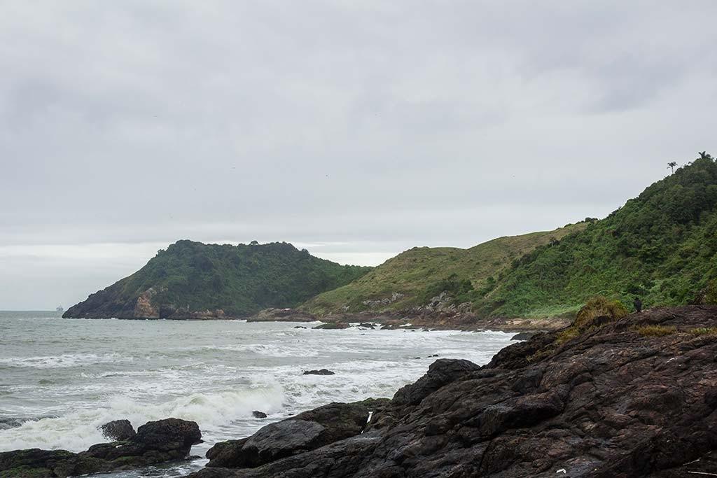 Cicloturismo litoral norte de SC - Dia 2 - Mirante Rua do Turismo