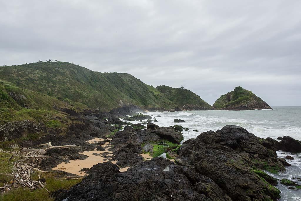 Cicloturismo litoral norte de SC - Dia 2 - Mirante Rua do Turismo 2