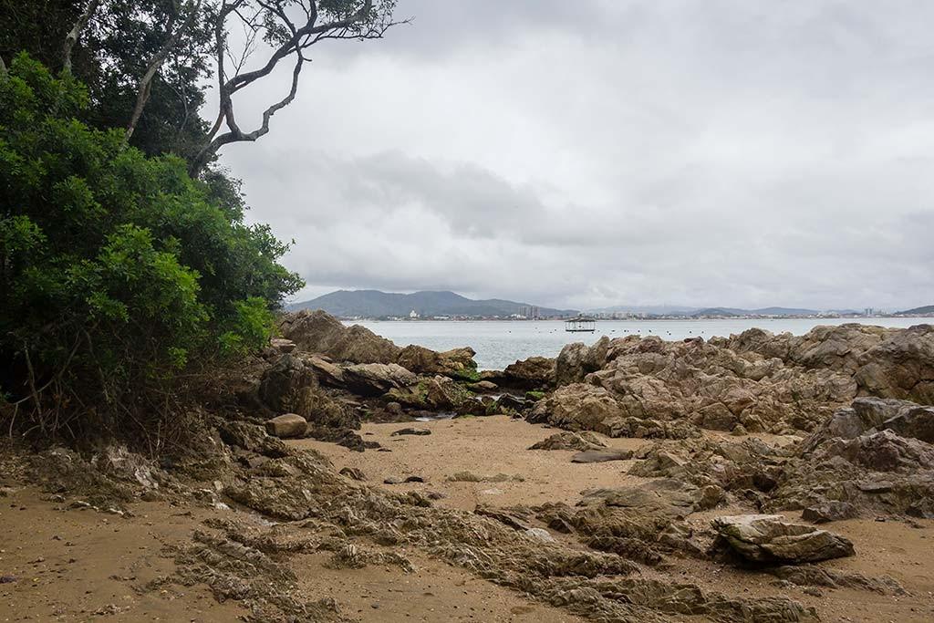 Cicloturismo litoral norte de SC - Dia 2 - Praia da Paciência 2