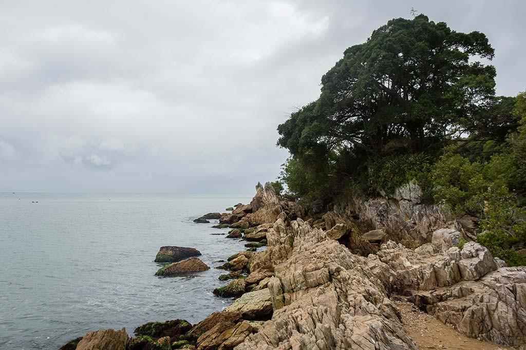 Cicloturismo litoral norte de SC - Dia 2 - Praia da Paciência 3