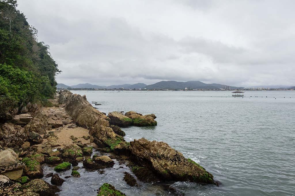 Cicloturismo litoral norte de SC - Dia 2 - Praia da Paciência 4