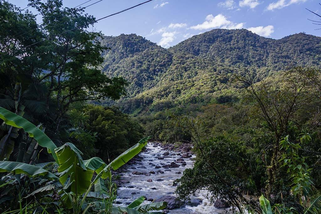 Circuito Vale Europeu - Dia 2 - Rio dos Cedros - Montanhas e rio