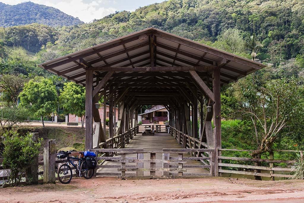 Circuito Vale Europeu - Dia 2 - Rio dos Cedros - Parada pra descansar