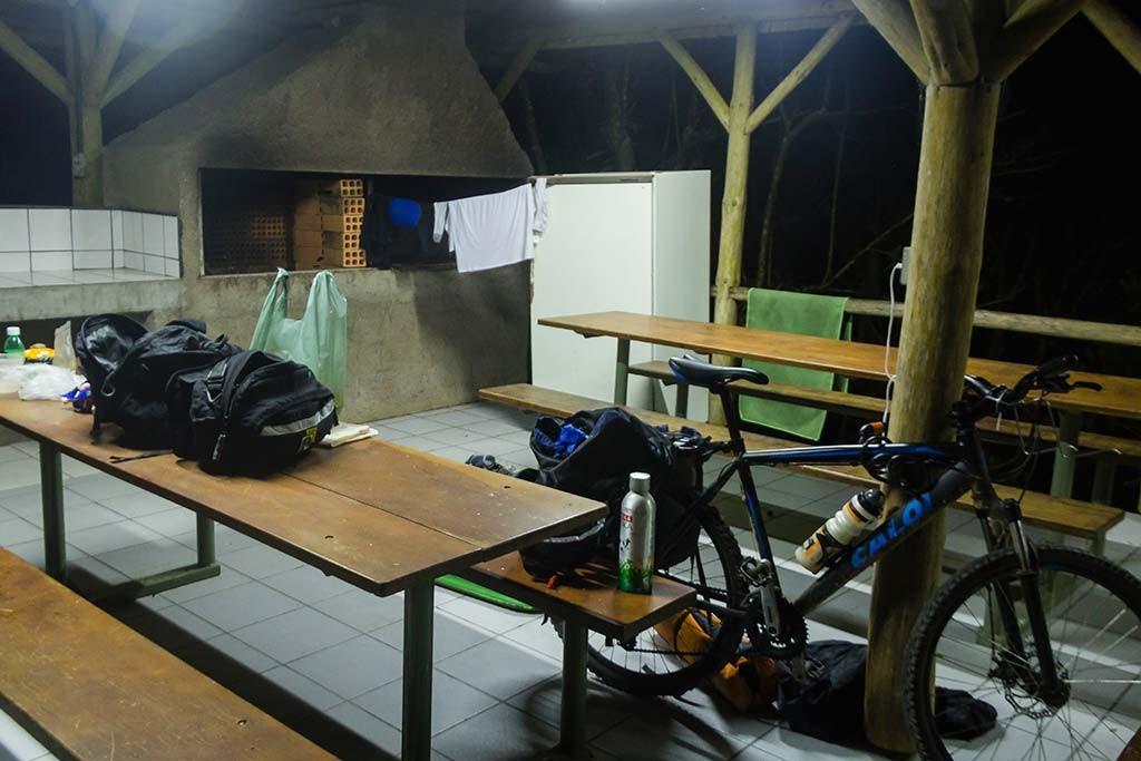 Circuito Vale Europeu - Dia 2 - Rio dos Cedros - Pronto pra dormir 2