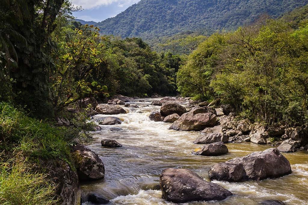 Circuito Vale Europeu - Dia 2 - Rio dos Cedros - Vista da ponte pênsil