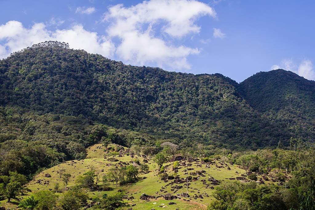 Circuito Vale Europeu - Dia 2 - Rio dos Cedros - Vista para as montanhas