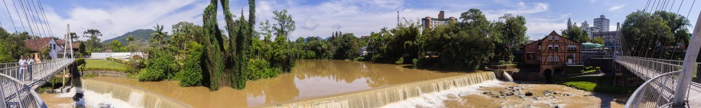 Circuito Vale Europeu - Dia 2 - Timbó - Panorâmica Rio Benedito