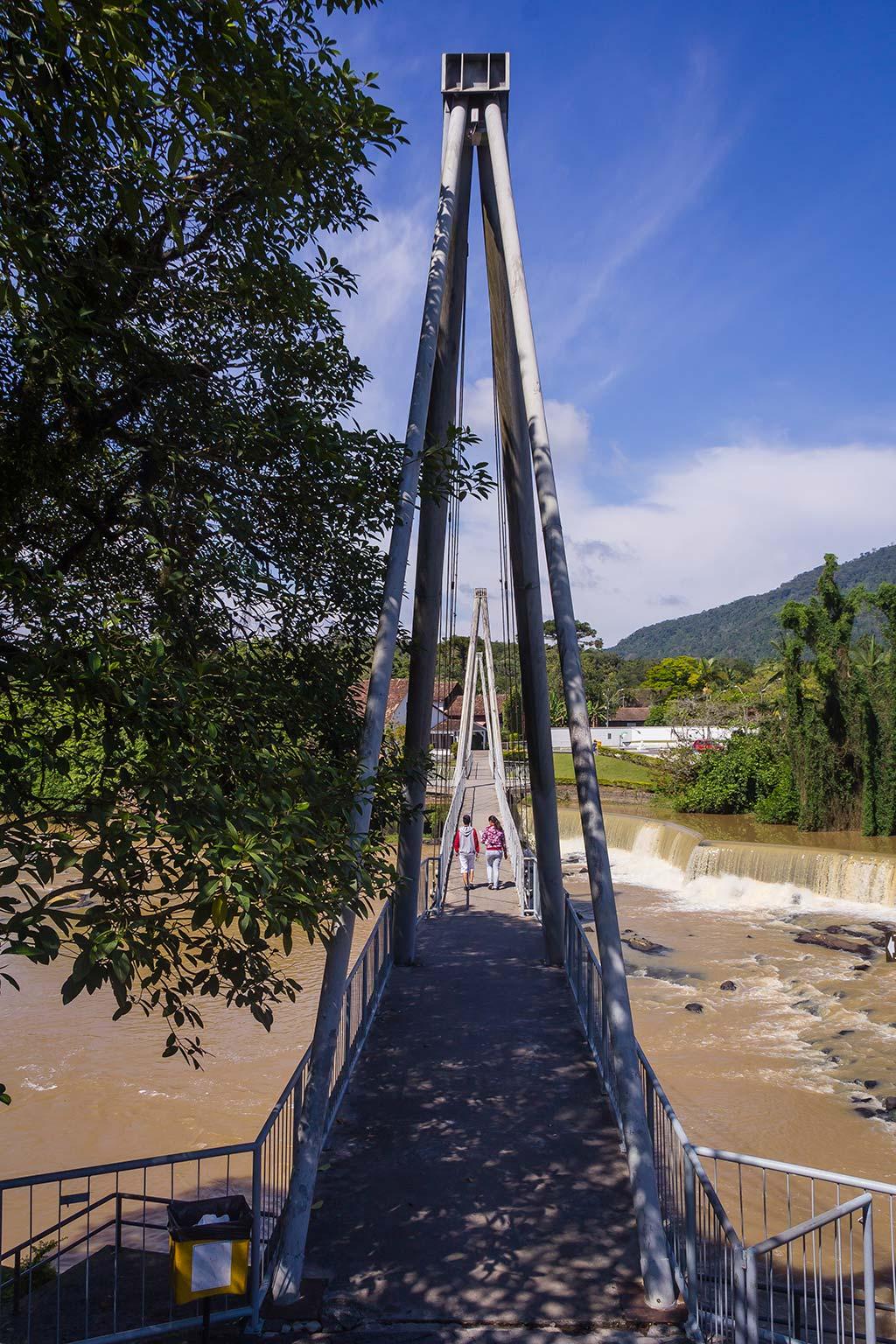 Circuito Vale Europeu - Dia 2 - Timbó - Ponte no centro 2 - Rio Benedito