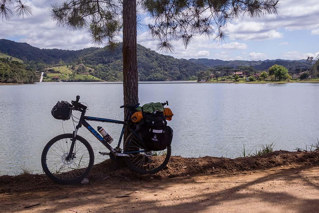 Circuito Vale Europeu - Dia 3 - Rio dos Cedros - Bike e a lagoa