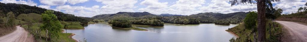 Circuito Vale Europeu - Dia 3 - Rio dos Cedros - Panorâmica lagoa 2