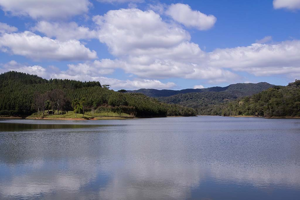 Circuito Vale Europeu - Dia 3 - Rio dos Cedros - Vista para a Lagoa