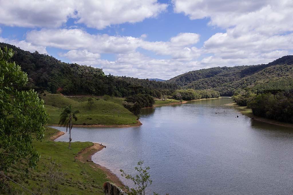 Circuito Vale Europeu - Dia 3 - Rio dos Cedros - Vista para a lagoa 2