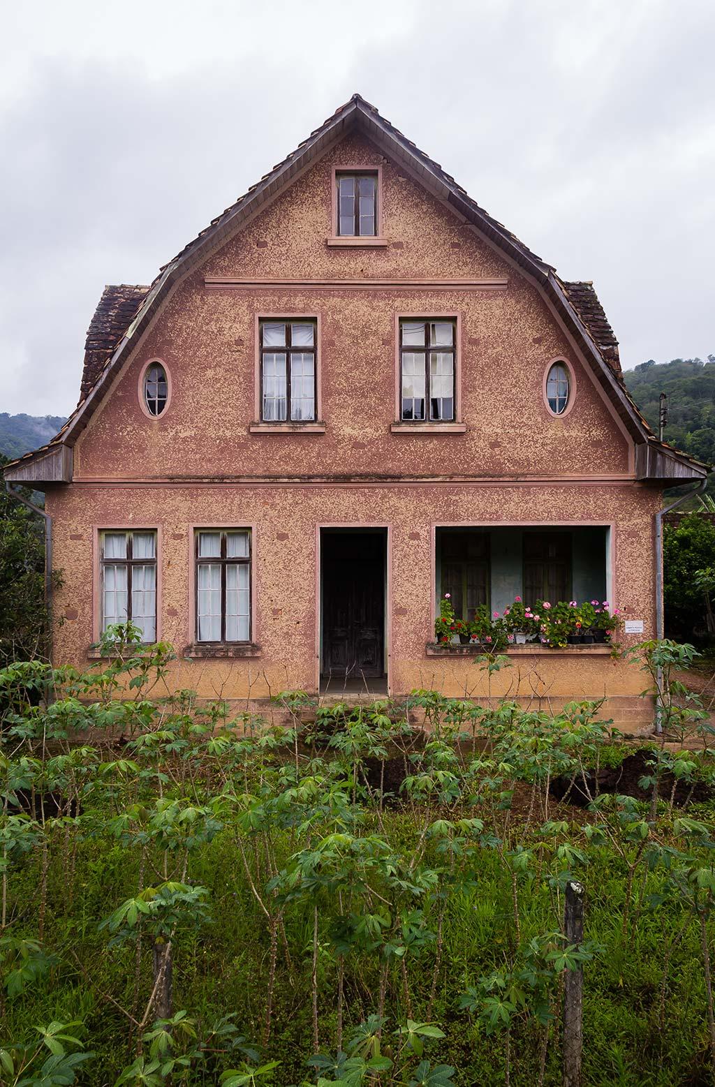 Circuito Vale Europeu - Dia 5 - Pomerode - Casa antiga
