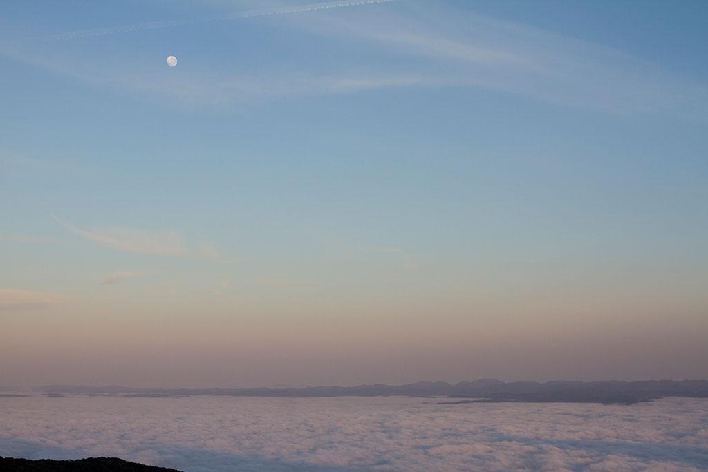 Dia nascendo - Trilha Pico Paraná 3