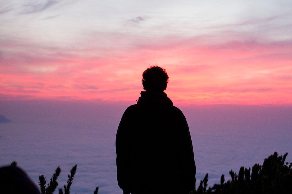 Glauco - Sol nascendo no Pico Paraná