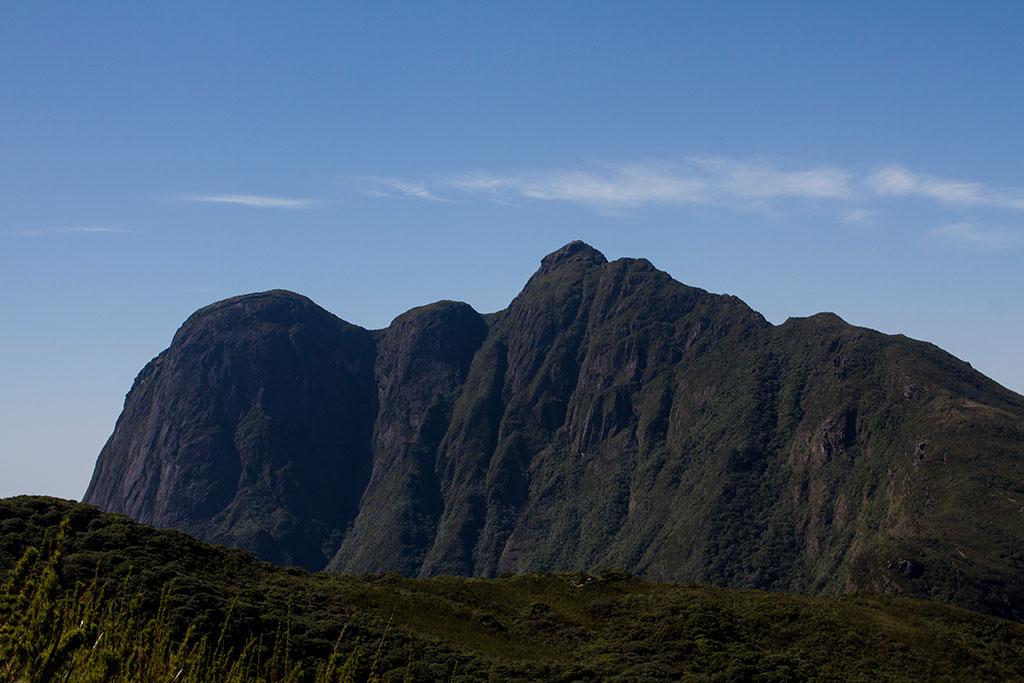 Primeira vista do Pico Paraná