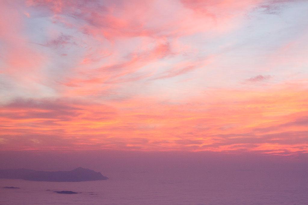 Sol nascendo - Cume Pico Paraná 1