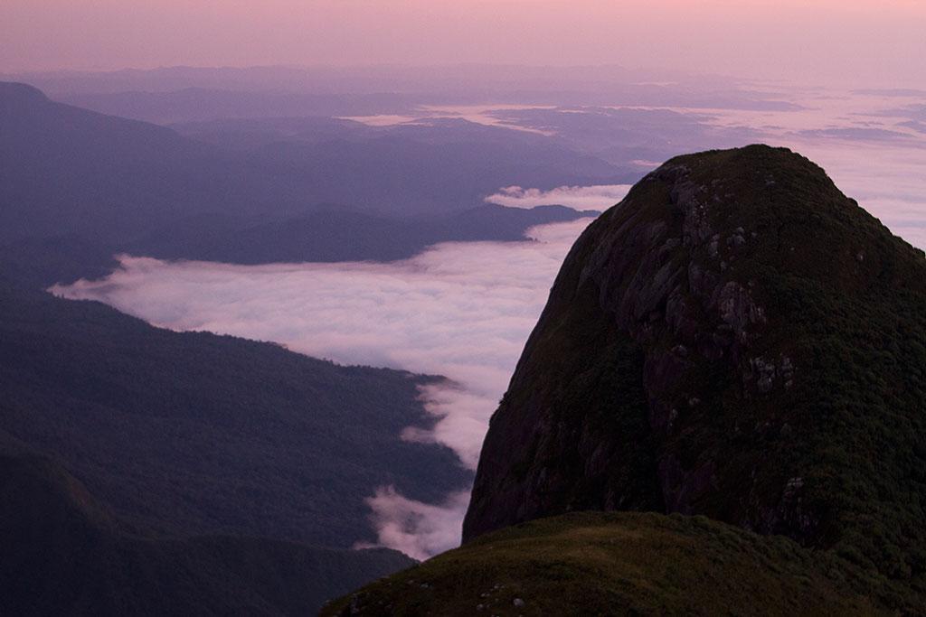 Sol nascendo - Cume Pico Paraná 2