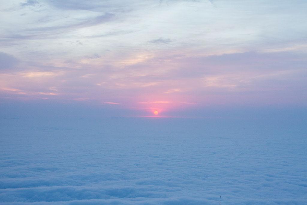 Sol nascendo - Cume Pico Paraná 4