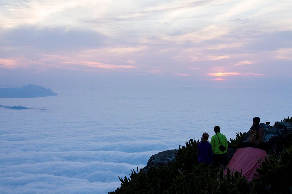 Sol nascendo - Cume Pico Paraná 6
