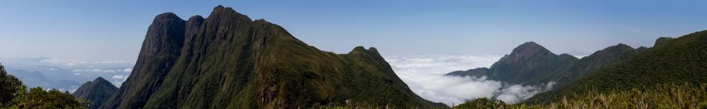 Vista Panorâmica - Acampamento A2 - Trilha Pico Paraná
